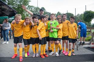 TuS E1-Jugend, Sieger des E1-Jugend Turniers. - Foto: r.f.