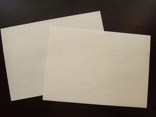 真っ白な紙でこころのお手入れ