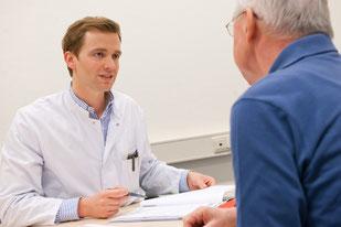 Ein gelungenes Gespräch zwischen Arzt und Patient erhöht den Behandlungserfolg und die Zufriedenheit der Patienten. (Foto: Universitätsklinikum Heidelberg)