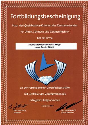Zentralverband für Uhren, Schmuck und Zeitmesstechnik