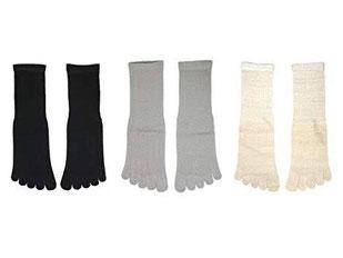 5本指ソックス絹綿