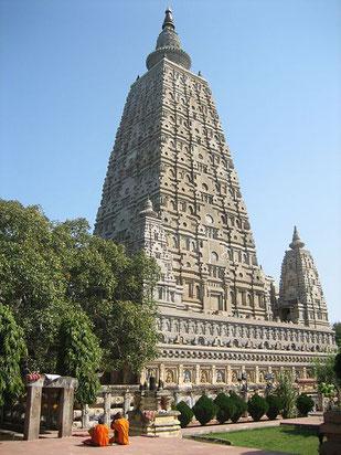 Храм Махабодхи в Бодхгае, Индия