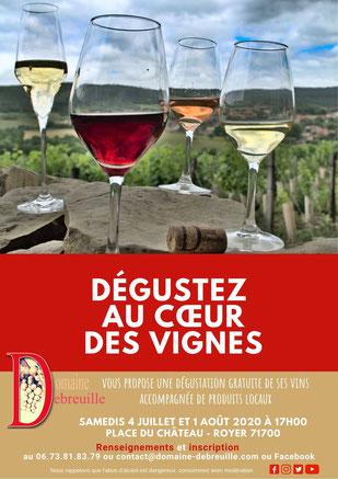 dégustation dans les vignes, dégustation, vignes, découvertes