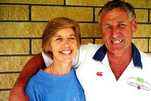 John und seine Frau Kathrin