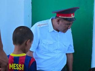 Messi ist auch in Kirgistan ein Star