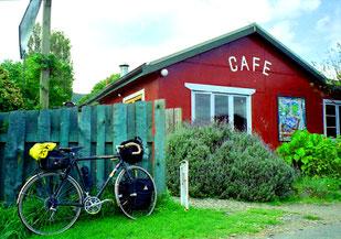 das Cafe einer Kommune
