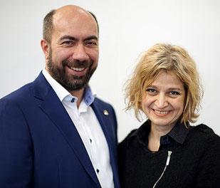 Константин Довлатов и Татьяна Трофимова