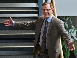 Bodo Ramelow kann zum ersten Ministerpräsidenten der Linken werden. Foto: Martin Schutt/Archiv