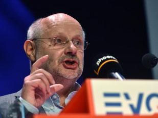 Alexander Kirchner, Vorsitzender der Eisenbahn- und Verkehrsgewerkschaft (EVG). Foto: Uwe Zucchi/Archiv