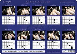gitarrengrifftabelle kostenlos