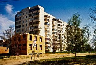Wohnsiedlung in Odessa