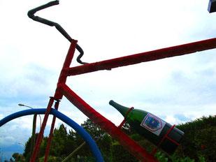 Champagner-Werbung - hier für die Tour de France