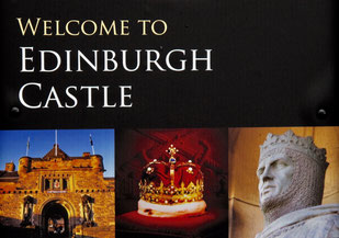 Edinburgh Castle ein Touristen-Highlight