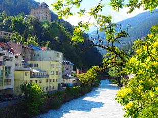 Landeck am Inn - von hier geht´s in Engadin und zum Arlberg