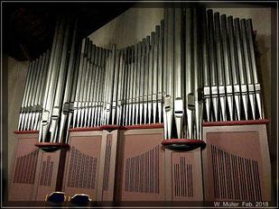 Orgelpfeifen der Nicolai KIrche © W. Müller