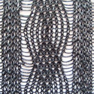変わり縄編み