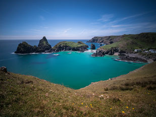 Kynance Cove, Cornwall.