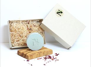 Seife mit eingenem Logo, individuelle Seife