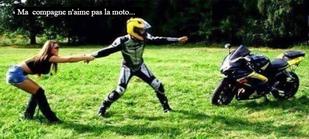 Peur en moto