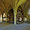 Le dortoir et ses huit colonnes à tambours.