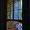 Les vitraux de l'escalier.