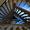 Cet escalier dessert 4 niveaux.