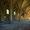 Le sol de l'étage est constitué de dalles et pavés.