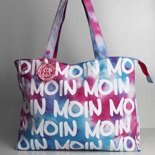 New York Paris Farbe: schwarz Tokyo KAMENZ London Jutebeutel Tasche