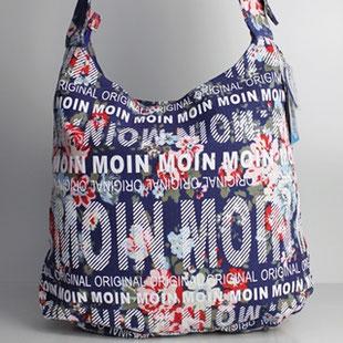 Jutebeutel Tasche London Tokyo NANCY Farbe: schwarz New York Paris