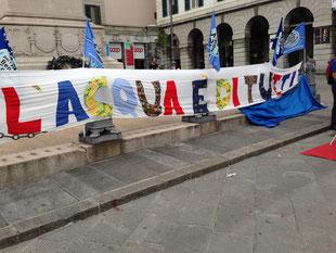 Presdio per l'acqua pubblica, Genova 19 e 20 settembre