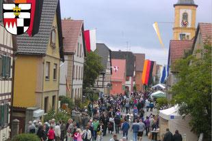 Hemmersheim in der Kommunalen Allianz A7 Franken West