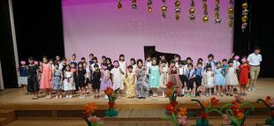 宇都宮市・雀宮・西川田・若松原のピアノ教室・音楽教室プリマヴェーラの発表会の写真