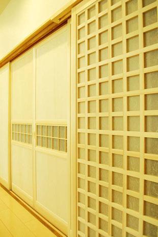 木製建具 格子戸