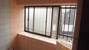 在来浴室窓リフォーム