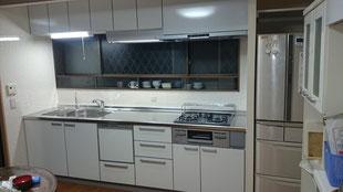 冷蔵庫スペースを確保するためのリフォーム