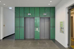 Lichtbeton Aufzug Wandverkleidung