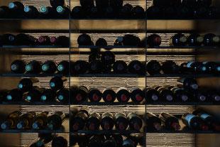 Lichtbeton Weinlager