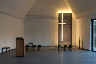 Lichtbeton Kreuz Kirche