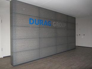 LUCEM DURAG Freistehende Wand
