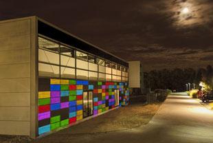 Lichtbeton Fassade