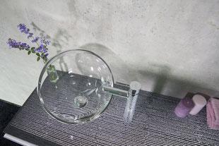 Lichtbeton Waschtischplatte