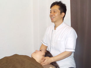 頭痛治療 施術