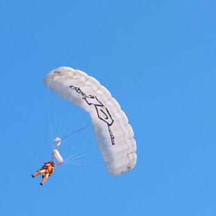 Fallschirmspringen auf Texel