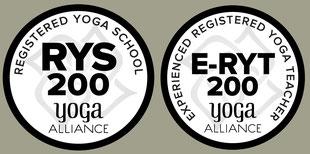 Die Yogalehrer-Ausbildung ist zertifiziert nach den internationalen Richtlinien der Yoga Alliance