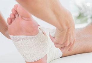Diabetisches Fußsyndrom, Diabeteszentrum Buchholz