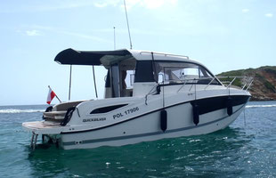 Boat rental Qucksilver 755 with & without skipper