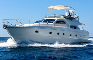 Boat rental Ferretti 175 included skipper
