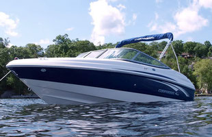 Motorboat Chaparral SSI 204 rental mallorca