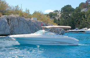 Motorboat Sea Ray 280 rental mallorca
