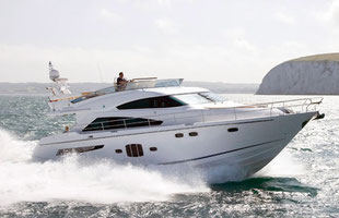 Boat rental Fairline 55 with & without skipper